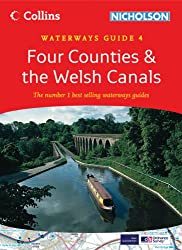 Collins/Nicholson Waterways Guides (4) - Four Counties and the Welsh Canals