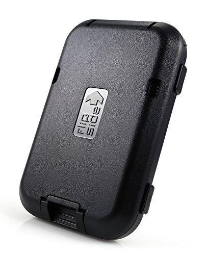 Flipside Wallets RFID Blocking Flipside 4 Wallet (Black)
