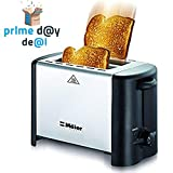 Maier Premium Compact Ultra Efficient 18/10 Stainless Steel 2 Slice Toaster with Long Lasting Heat Element – Perfect Toast Every Time