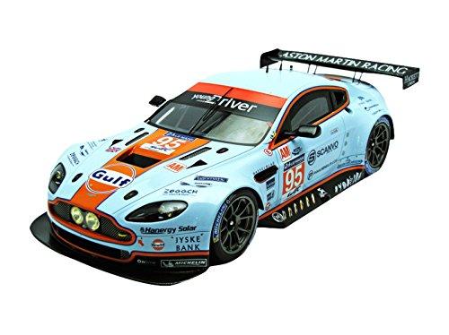 1/18 Aston Martin Vantage V8 Winner LM GTE AM Le Mans 2014 K. Poulsen - D. H. Hansson - N. Thiim #95 (ホワイト×オレンジ) 18S152
