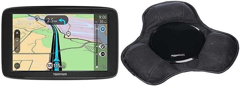 Tomtom Navigationsgerät Start 62 6 Zoll Karten Updates Europa Fahrspurassistent Amazon Basics Armaturenbrett Halterung Für Tragbare Navigationsgeräte Von Garmin Und Anderen Marken Navigation