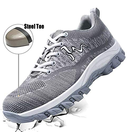 JACKSHIBO Work Shoes for Men and Women, Breathable for sale  Delivered anywhere in USA