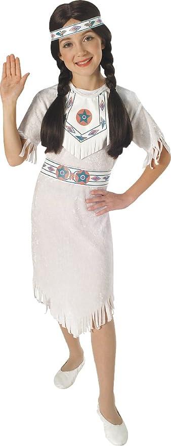 Rubies - Disfraz de princesa apache para niños (881053-M): Amazon.es: Juguetes y juegos