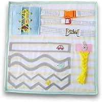 Montessori Busy Board Motor Becerisi ve Zeka Geliştirici Bebek ve Çocuk Kitabı