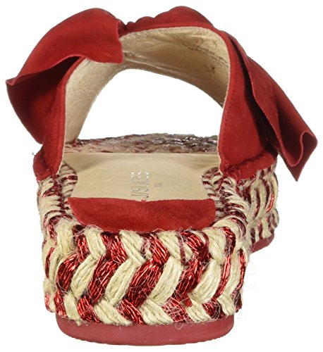 J Slides Women's Ritsy Sandal Red 2tMI2