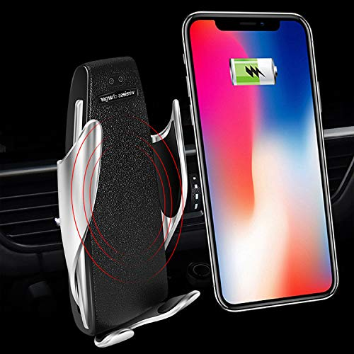 FREESOO Wireless Car Charger 10 W,iPhone Car Mount Wireless Charger for Samsung Galaxy S9/S9 plus/S8/S8 Plus/S7 and for iPhone X/iPhone 8/iPhone 8 Plus