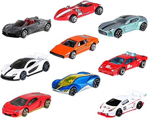 Hot Wheels Amazon Mini 10-Pack #2 Vehicles [Amazon Exclusive]