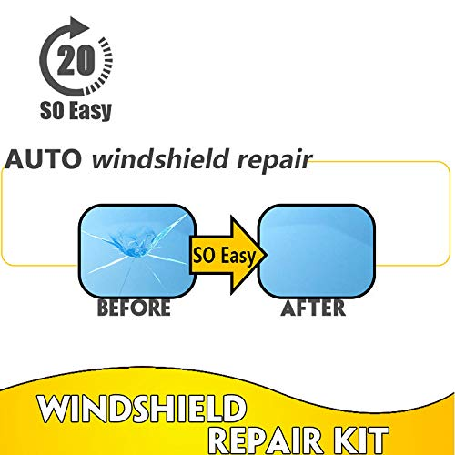 Giytoo Professional Quality Windshield Repair Kit Glass Corrector Set Crack Repairing for Car Vehicle