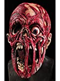 Rubie's Screaming Corpse Overhead Mask, Flesh/Red , One Size