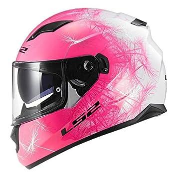 LS2FF320 -casco completo de moto con visera interior (talla M