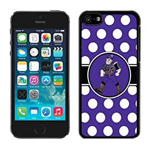 Southland Conference Football Stephen F Austin SFA Lumberjacks 02 Custom Hard Shell iPhone 5s Phone Cover Case Black