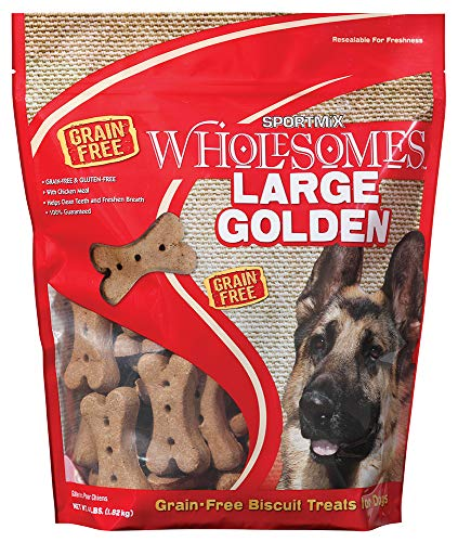 Midwestern Pet Foods Sportmix Original Choice Golden Dog Biscuit Treats, -