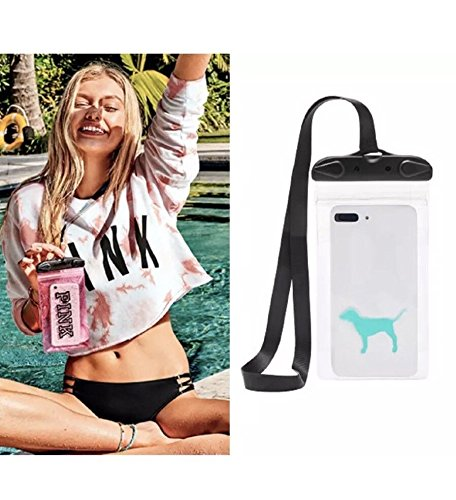 6b6a800047566 Image Unavailable. Image not available for. Color  Victoria s Secret PINK  WATER RESISTANT PHONE POUCH