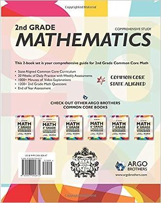 Chic Argo Brothers Math Workbook Grade 2 Common Core Multiple