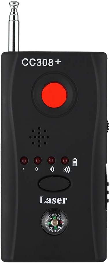 AUGYUESS Anti-spy Signal Detector Hidden Camera 1MHz-6500MHz RF Signal Detector GSM Device Finder Radar Radio Scanner, 4 Modes Detection Adjustable Sensitivity Wireless Bug Detector