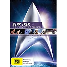 Star Trek 6 The Undiscovered Country | Remastered | NON-USA Format | PAL | Region 4 Import - Australia