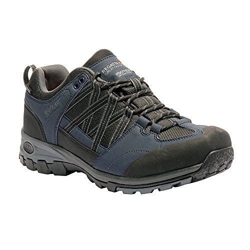 Black Great Mens Outdoors Boots Hiking Contrast Up Low Samaris Navy Granite Lace Regatta PRBnSqB