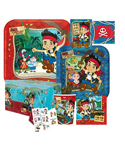 Jake & The Neverland Pirates Kids Birthday Party Pack