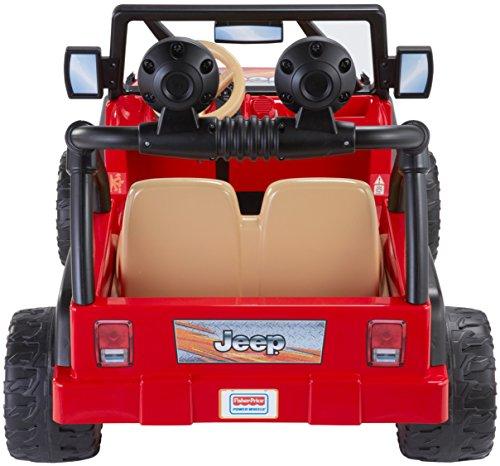 51tBNXiedhL - Power Wheels Jeep Wrangler, Red