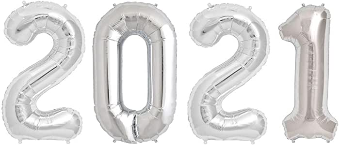 Amazon.com: Tellpet 2021 Balloons, 2021 Graduations ...