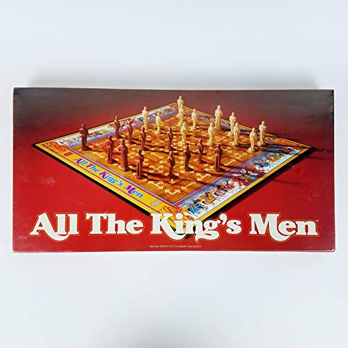 Vintage Game -- All The King's Men -- Parker Brothers 1979 -- as shown
