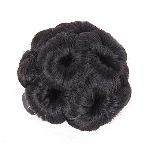 Chignon Scrunchie Braided Extensions Synthetic product image