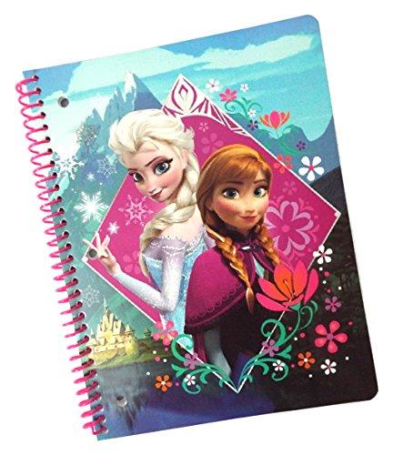 Disney Frozen Subject Ruled Notebook