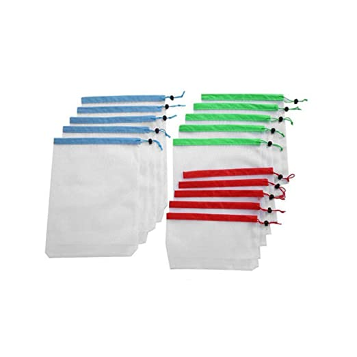 YoZhanhua Bolsas Reutilizables de Malla para Productos de ...