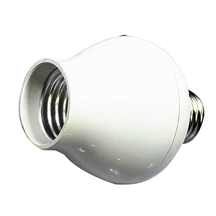 Universal E27 - Soporte para lámpara de Sensor de Movimiento, práctica Base de luz de