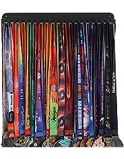 Goutoports Medal Holder Display Hanger Rack Frame for Sport Race Runner-Race Medal Hanger Holder - Sturdy Black Steel Metal Over 60 Medals Easy to Install (1Pcs)