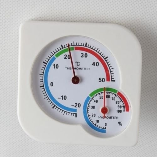 Indoor Outdoor Mini Wet Hygrometer Humidity Thermometer Temp Temperature Meter (Contact Cement Spray Gun compare prices)