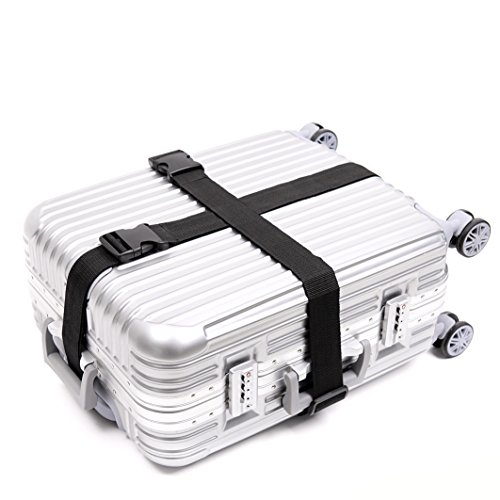 Darller 2-4 PCS Luggage Straps Suitcase Belts Travel Accessories Bag Straps