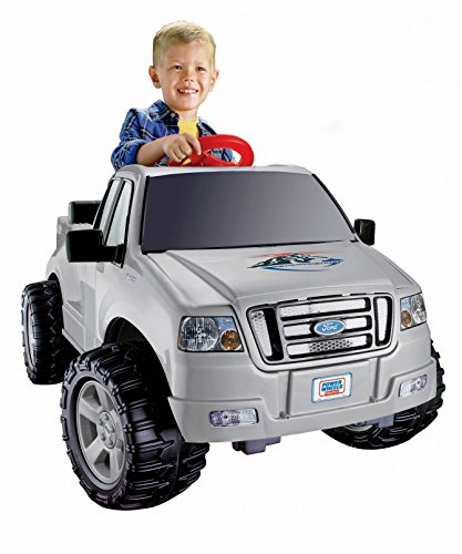 Power Wheels Ford Lil' F-150, White