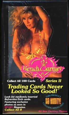 1994 Benchwarmer Trading Cards (Series 2) Pin-up Girls Photos Box of 36 Unopened Packs