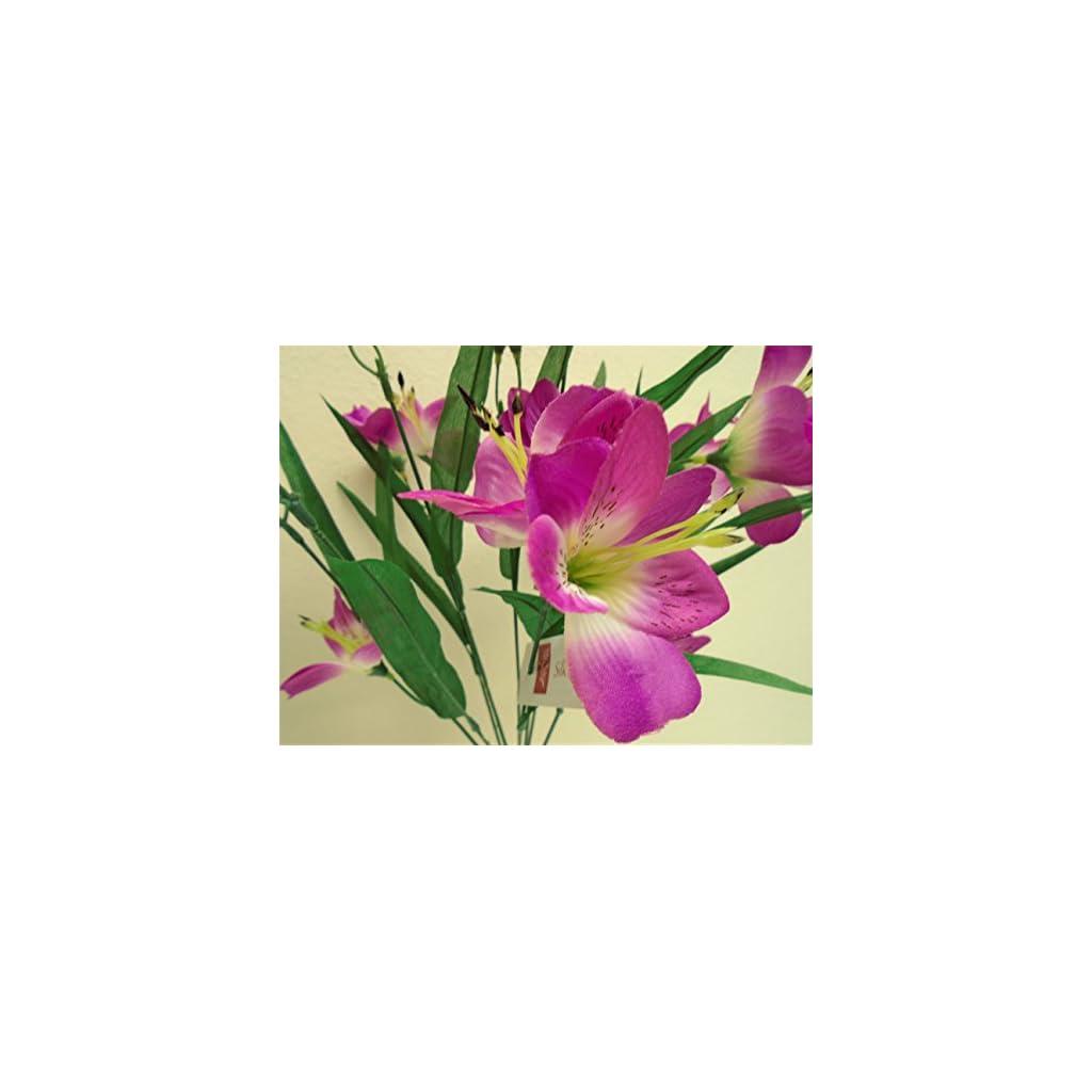 artificial alstroemeria flowers