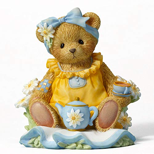- Cherished Teddies Flowers and Friends Suit Me to a Tea Bear Figurine CT1603 New