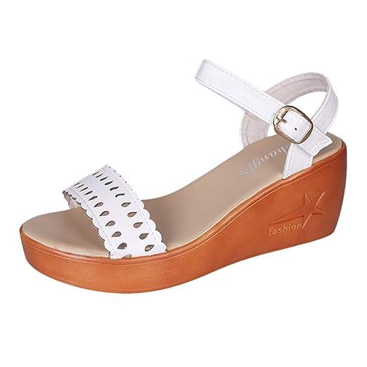 a99959f056ffa Amazon.com: Nevera Women's Shoes Hollow Out Platform High Heels ...