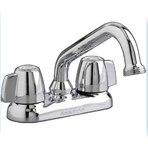 American Standard 7573.140.002 Double-Handle Laundry Faucet, Chrome