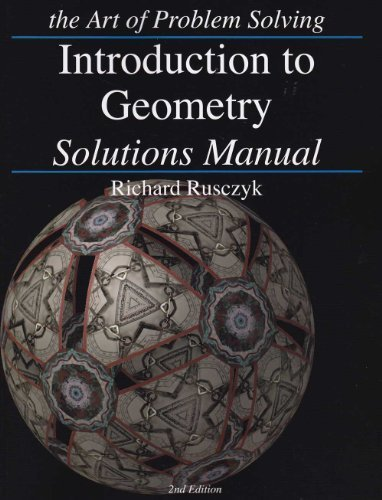 Art of Problem Solving Introduction to Geometry Solutions ()