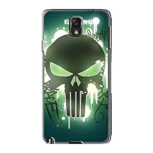 Shock Absorption Cell-phone Hard Covers For Samsung Galaxy Note 3 (VIE2294qrbt) Provide Private Custom Fashion Punisher Pattern