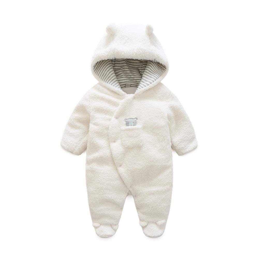 Fairy Baby Newborn Boys Girls Winter Bunting Outwear Hood Warm Jumpsuit Snowsuit