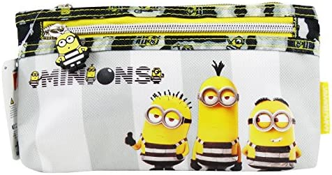 Minions Jail 3 Estuche Escolar Làpices de Colores Necesser Ninos: Amazon.es: Equipaje