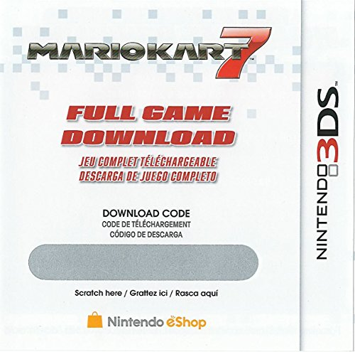 Mario Kart 7 Full Game Download Code - Nintendo 3DS eShop