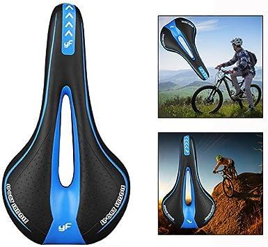 Xrten Silla de Montar Bicicleta Sillín Bicicleta Cómodo Gel: Amazon.es: Electrónica