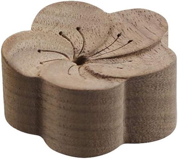 ZCWLXX カーウッド爽やかスリープエイド木製お香を拡散精油エッセンシャルオイルを拡散さウッドアロマディフューザー (Scent : Walnut)