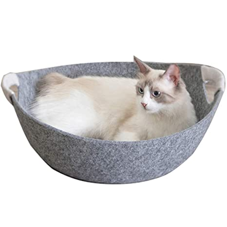 Amazon.com : GYZ-Dog Houses pet Cat mat nest-Cat Climbing Frame Plush Mattress Pet Bed for Cats Solid Memory Foam-Pet Products Deluxe Bed // (Color : 3) ...