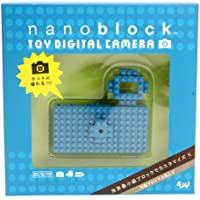 Nanoblock Toy Digital Camera 16GB Storage Blue