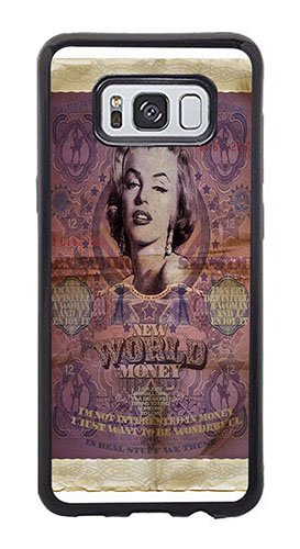 AOFFLY Case for Samsung Galaxy S8 Plus Only - Val Bochkov - Marilyn - Shock Absorption Protection Phone Cover Case -