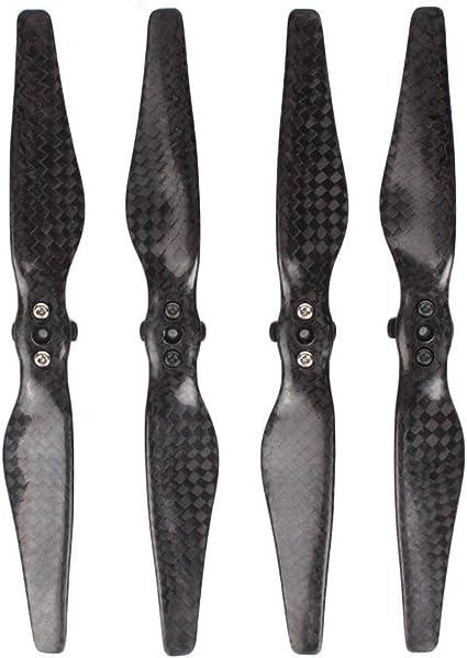 1//2Pair Carbon Fiber Propellers Quick Release Props Blades for D-JI Mavic Air 2