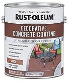 Rust-Oleum 301305 Decorative Concrete Coating, Brick